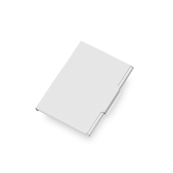 Card Case Digit - Silver