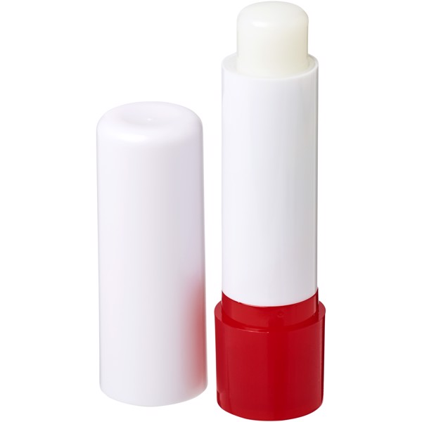 Deale lip balm stick - White / Red