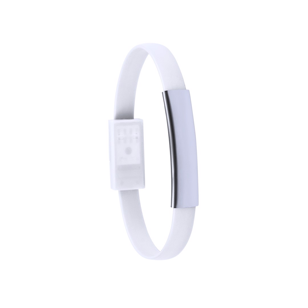 Bracelet Charger Ceyban - White