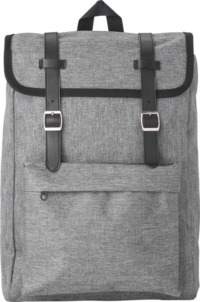 Rucksack 'Learner' aus Polyester - Grey
