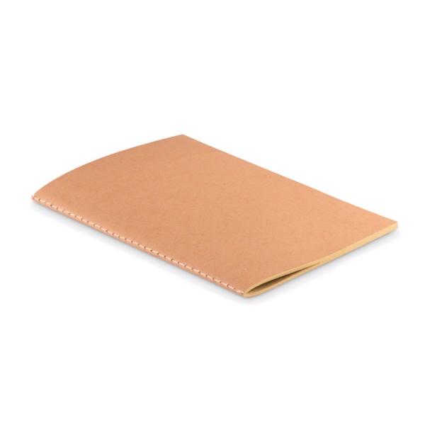 Blok A5 s kartonovým přebalem Mid Paper Book
