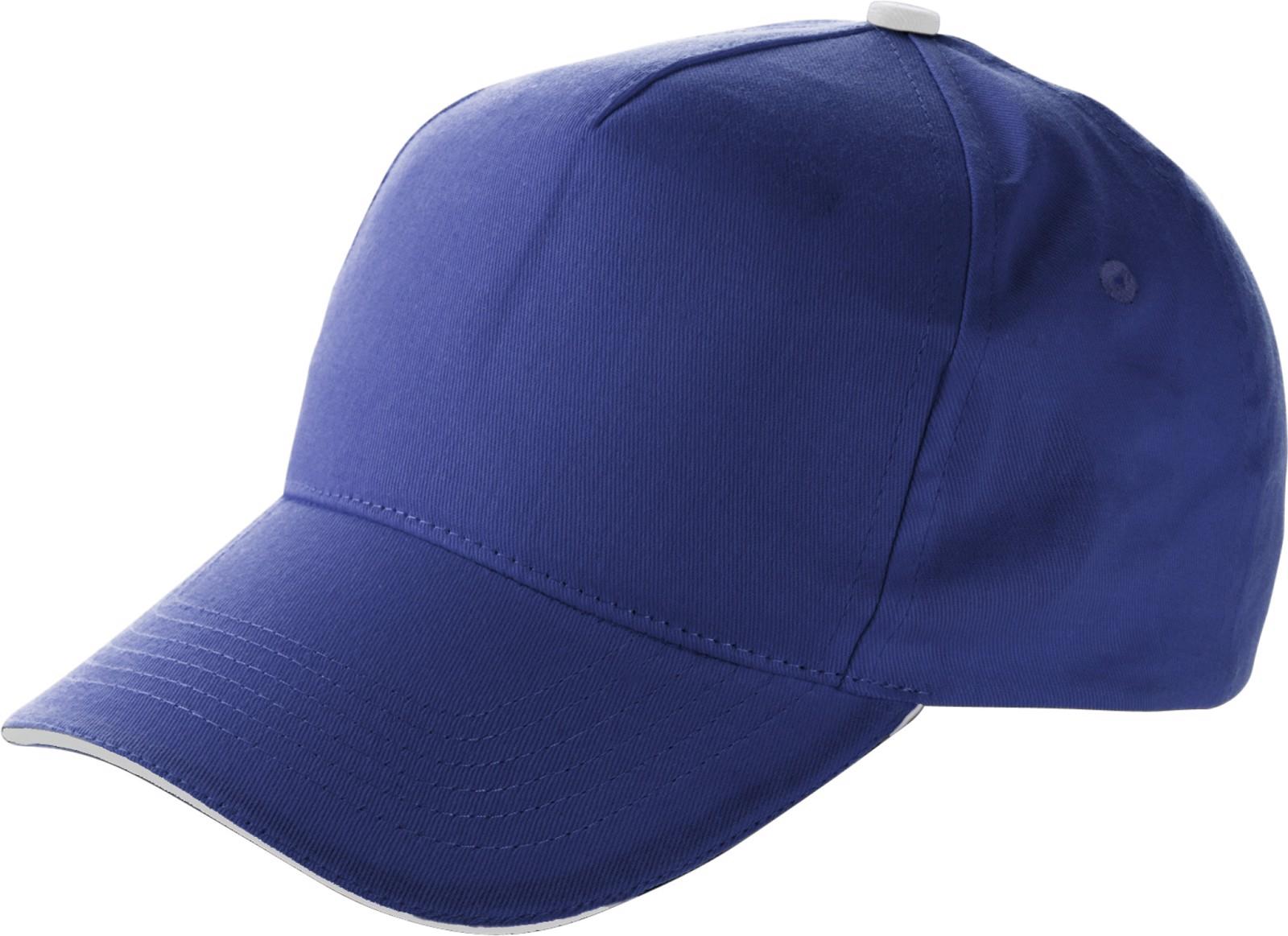Cotton cap - Cobalt Blue