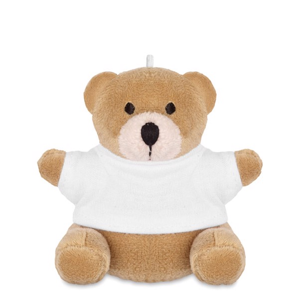 Teddy bear Nil - White