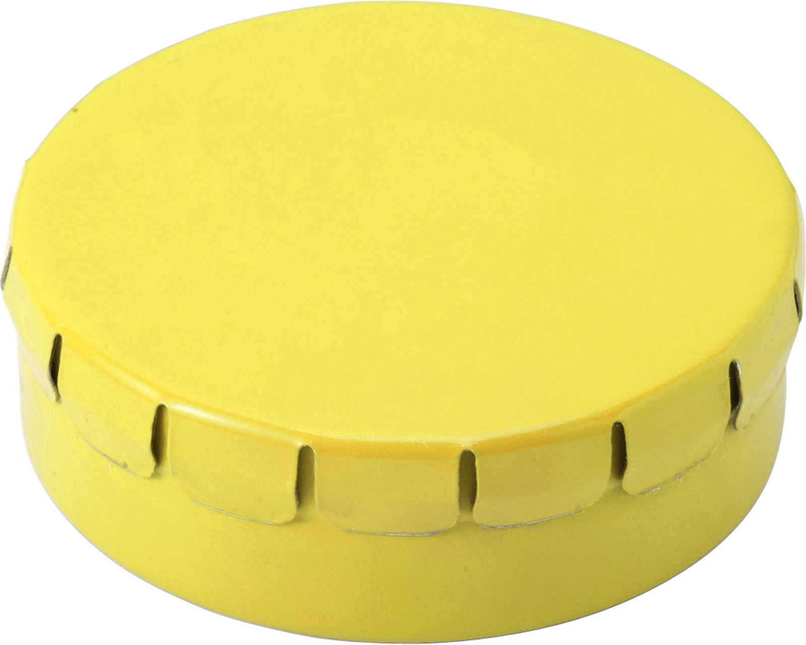 Tin with mints - Yellow