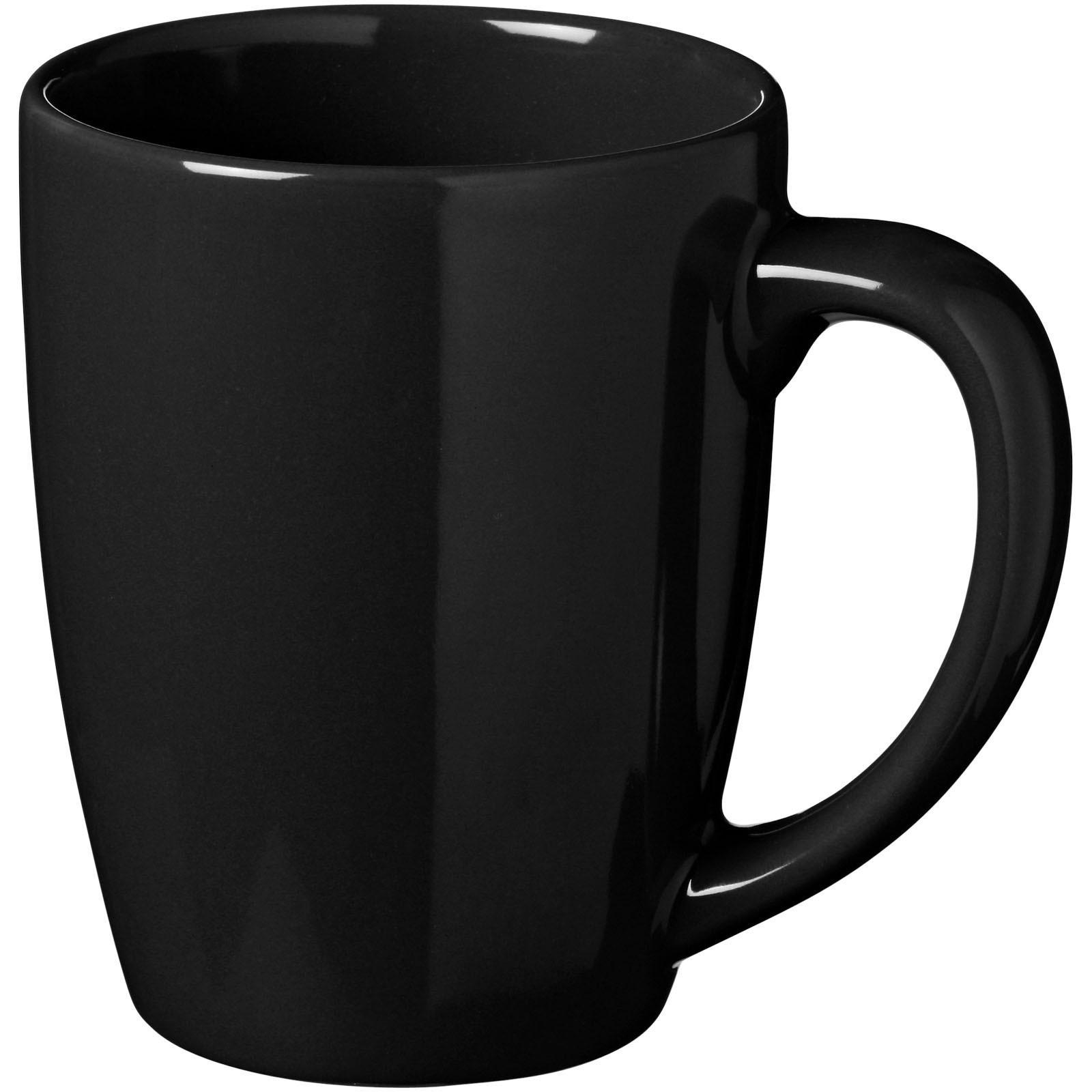 Medellin 350 ml Keramiktasse - Schwarz
