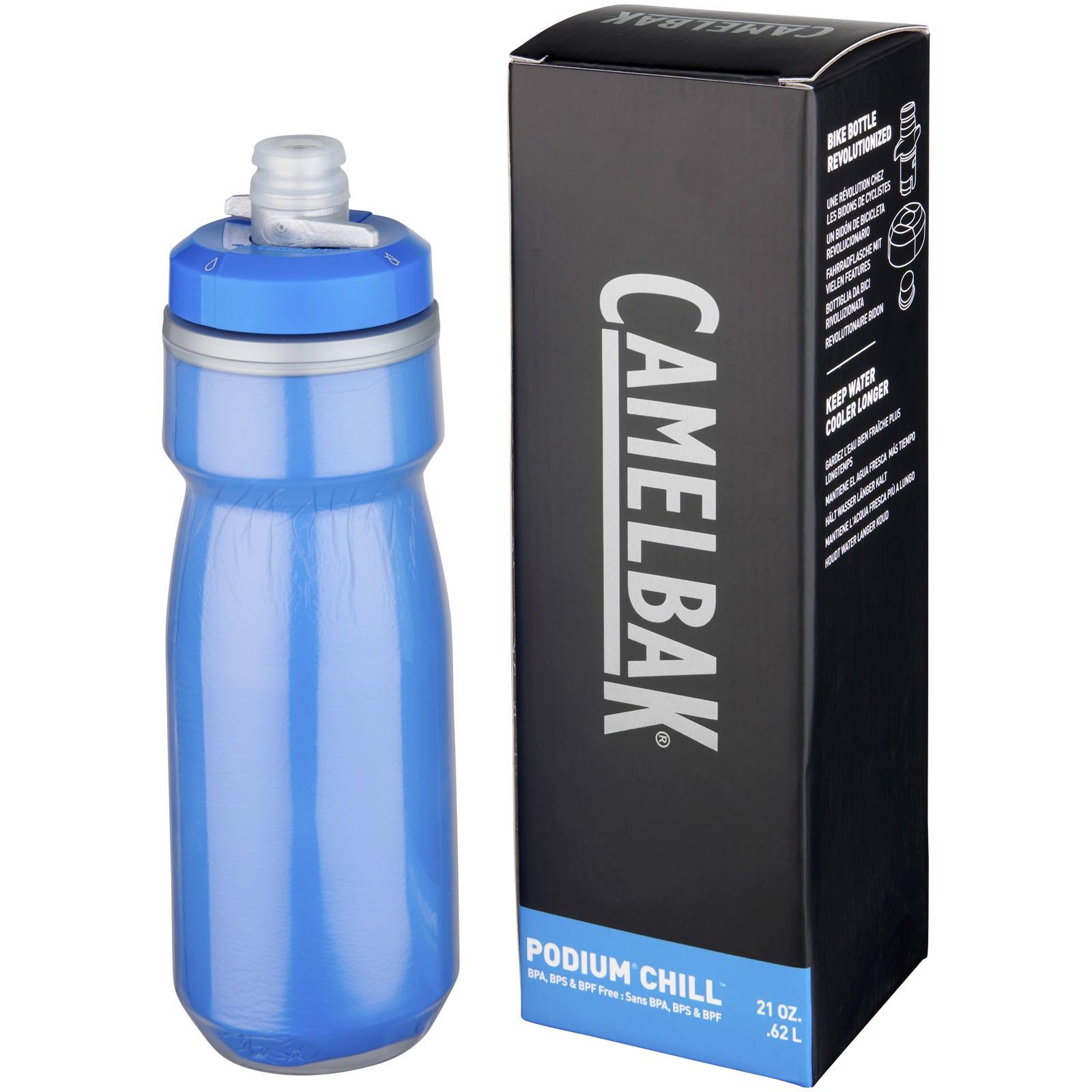Podium Chill 620 ml sport bottle - Royal blue