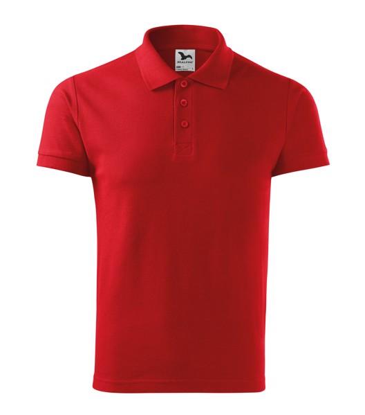 Polo Shirt Gents Malfini Cotton Heavy - Red / XL