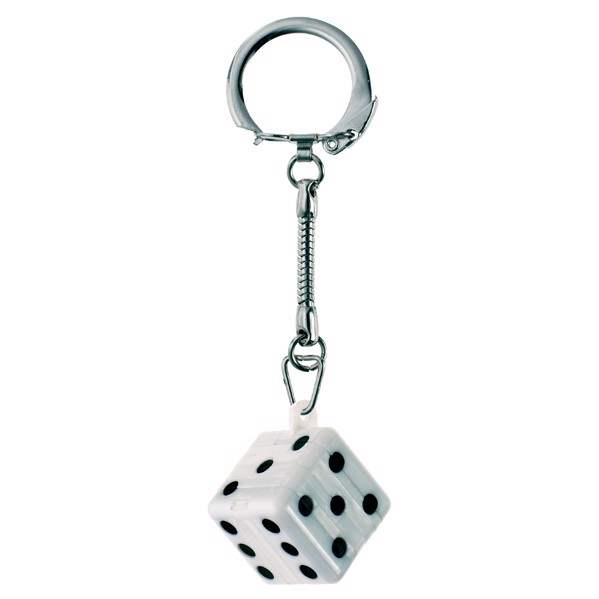 """Keyring """"Puzzle Dice"""""""