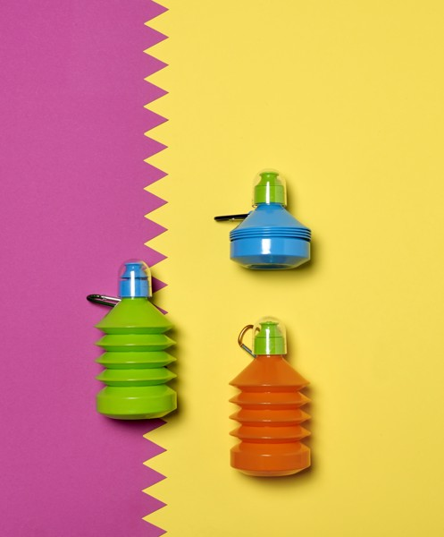 PE and PS bottle - Pink