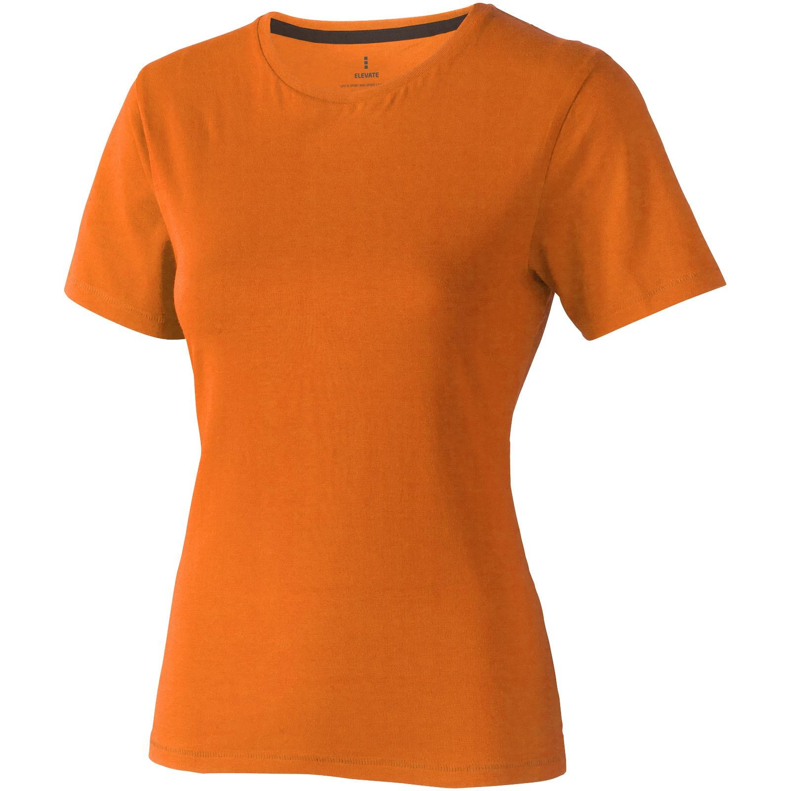 Nanaimo short sleeve women's T-shirt - Orange / XS