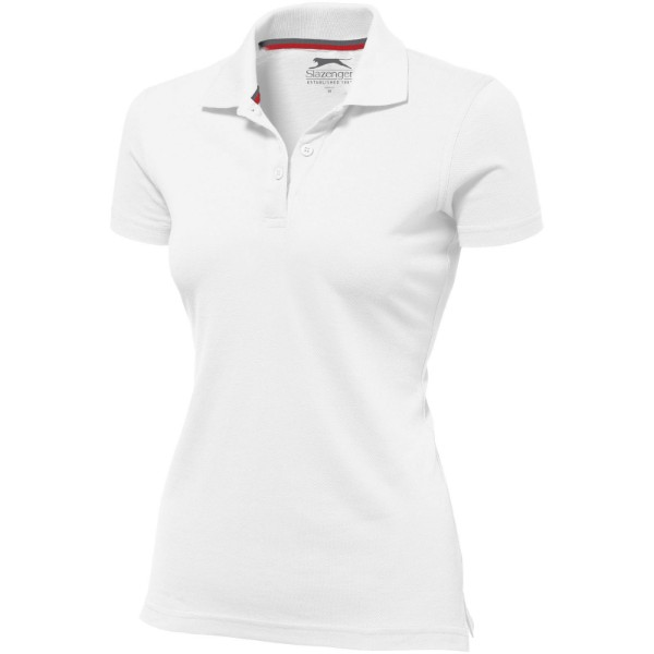 Advantage short sleeve women's polo - White / XXL