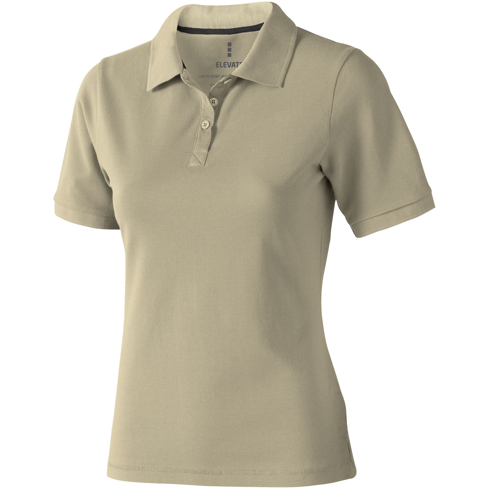 Calgary short sleeve women's polo - Khaki / L