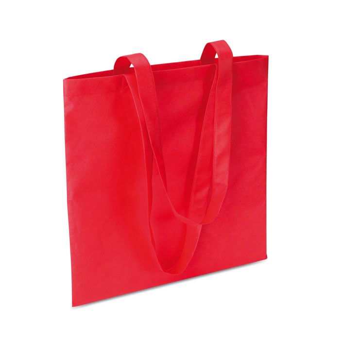 Shopping bag in nonwoven Totecolor - Red