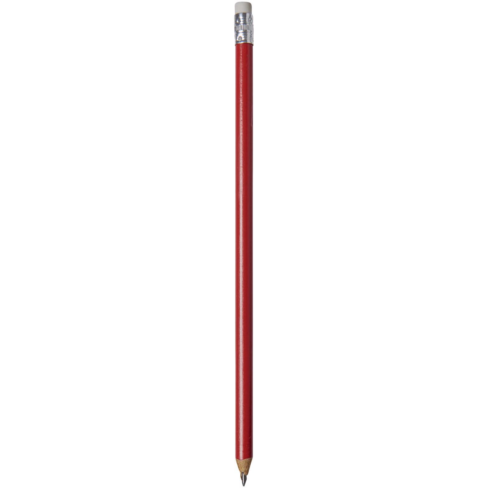 Tužka Alegra s barevným tělem - Červená s efektem námrazy
