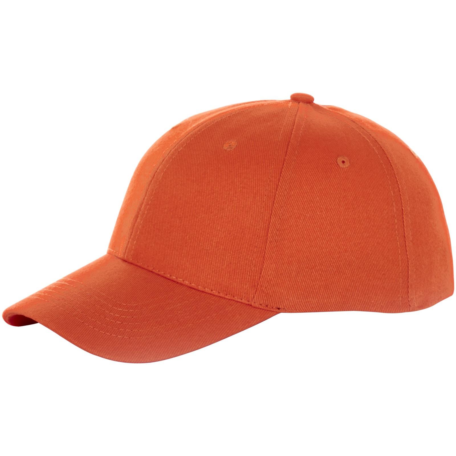 Bryson 6 panel cap - Orange