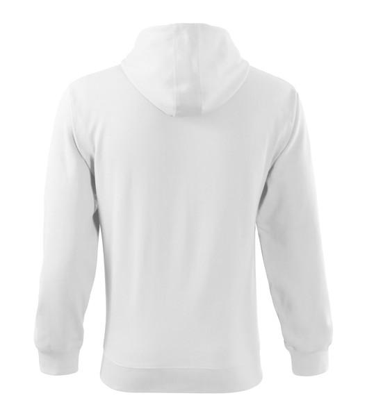 Mikina pánská Malfini Trendy Zipper - Bílá / L