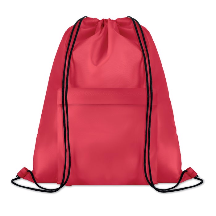 Large drawstring bag Pocket Shoop - Red
