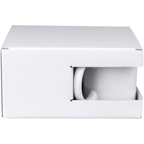 Ceramic Geschenkset mit 4 Bechern - Weiss