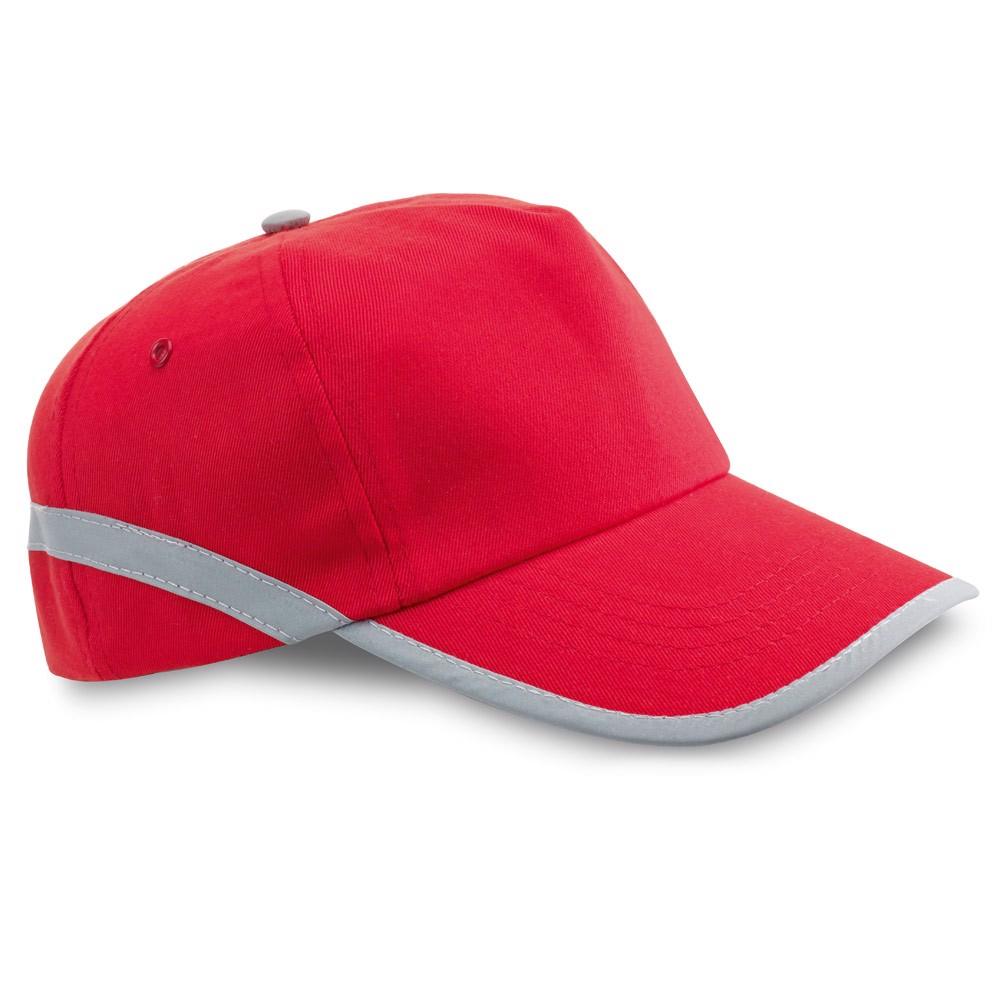 JONES. Καπέλο με αντανακλαστικά στοιχεία - Κόκκινο