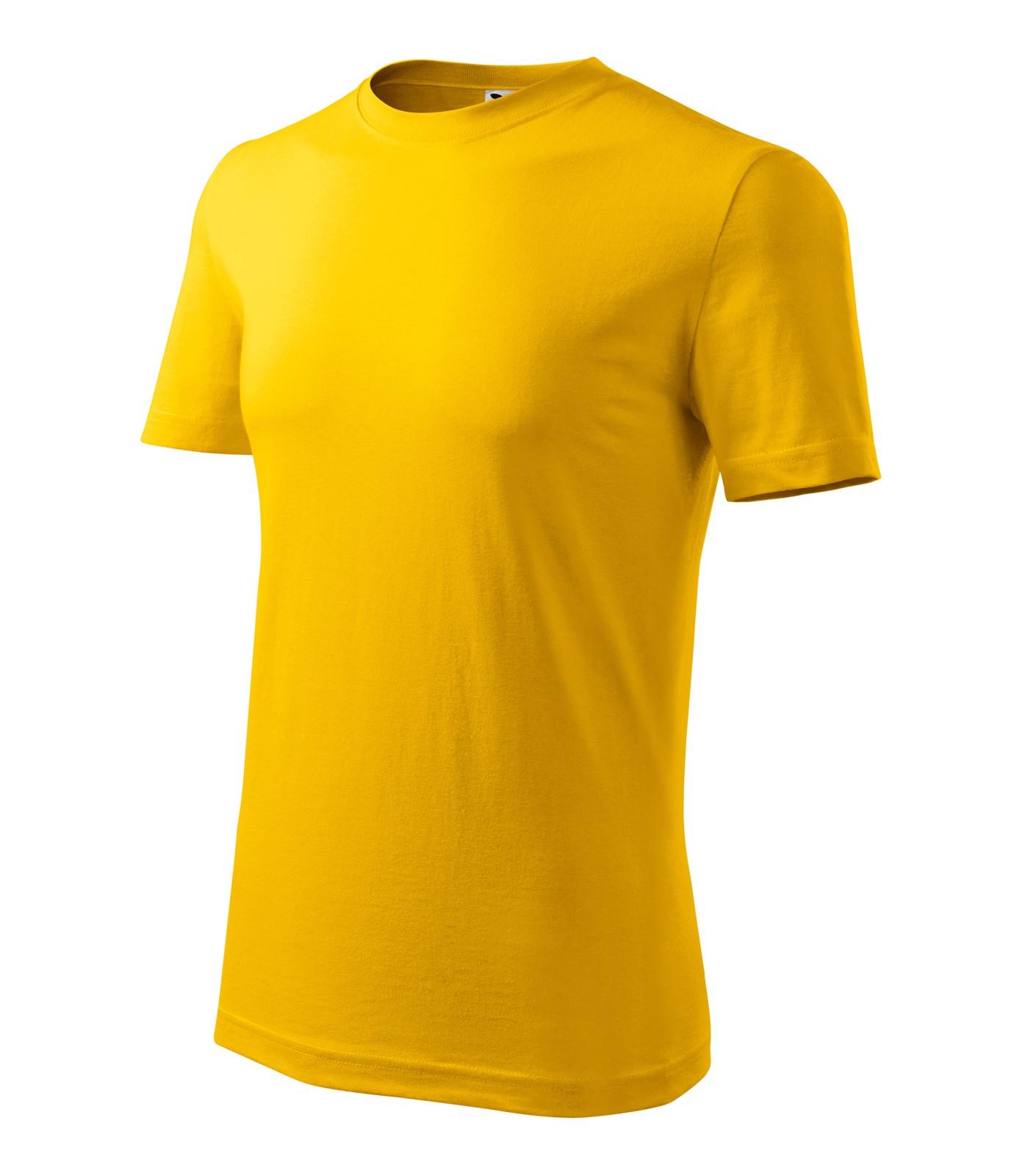 T-shirt men's Malfini Classic New - Yellow / S