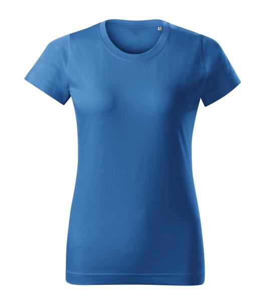 Tričko dámské Malfini Basic Free - Azurově Modrá / XL