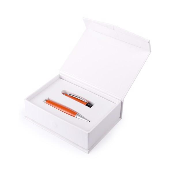 Esferográfica Ponteiro USB Sivart 8GB - Verde