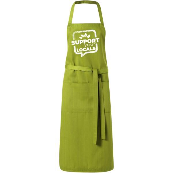 Viera Schürze mit 2 Taschen - Olive