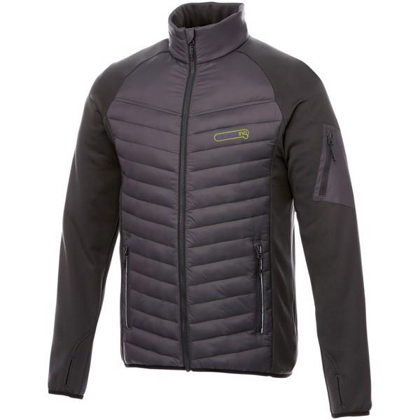 Banff hybrid insulated jacket - Storm Grey / L