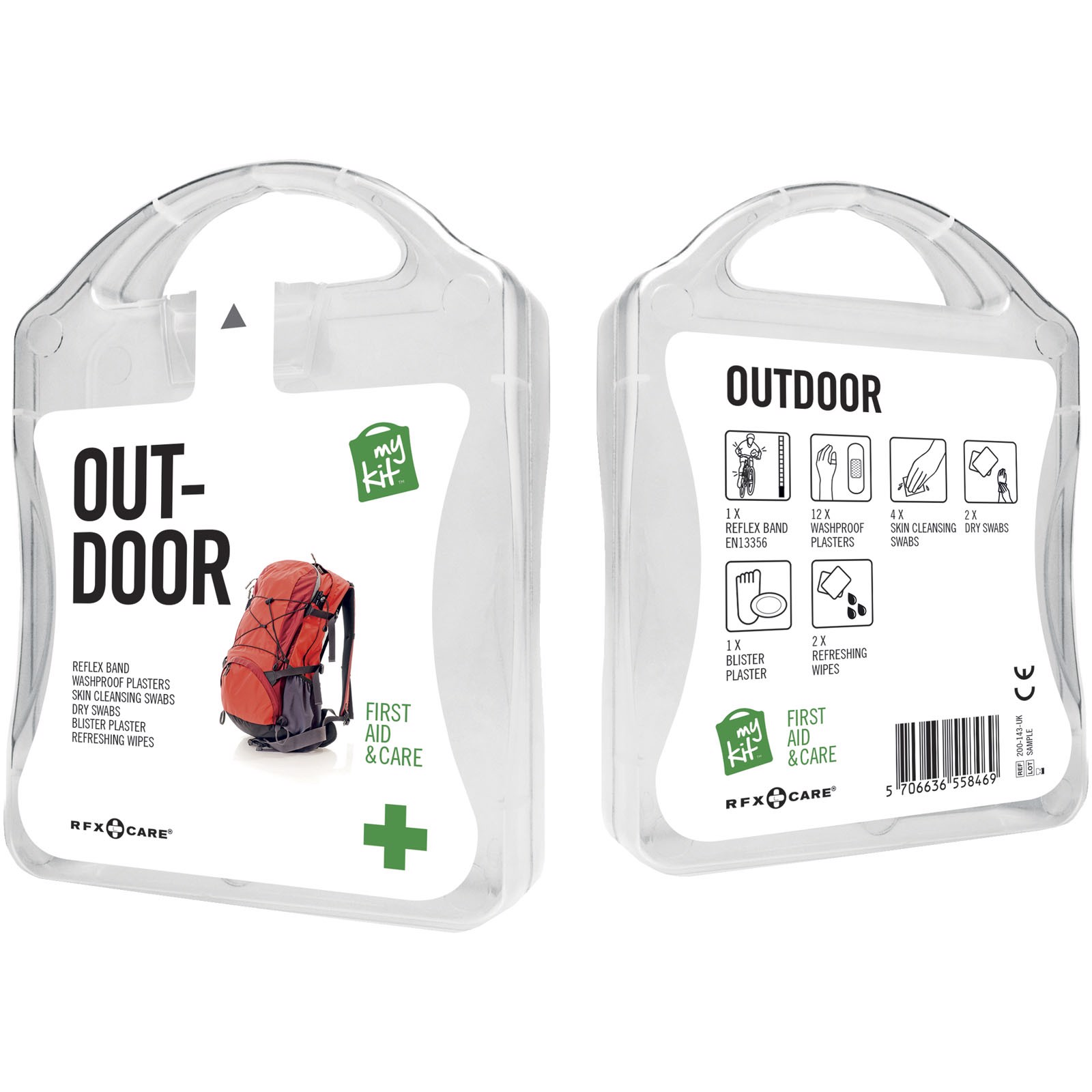 MyKit Outdoor First Aid Kit - White