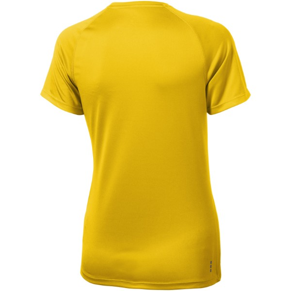 Niagara short sleeve women's cool fit t-shirt - Yellow / M
