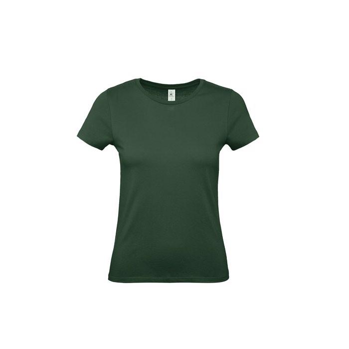 T-shirt female 145 g/m² #E150 /Women T-Shirt - Bottle Green / XS