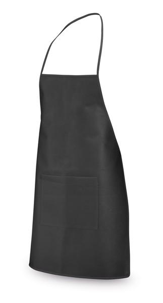 CELERY. Non-woven apron - Black