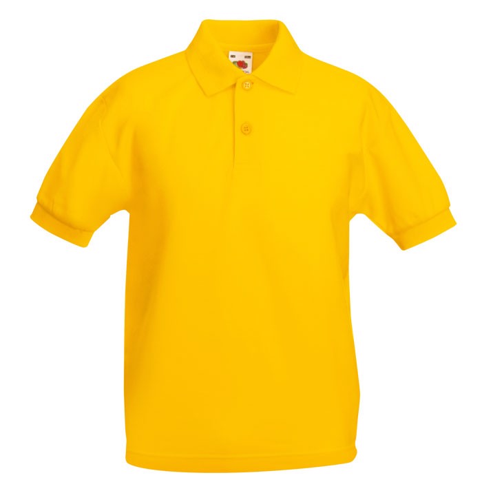 Gyerek pólóing 170/180 g/m2 65/35 Kids Polo 63-417-0 - Sunflower / XL