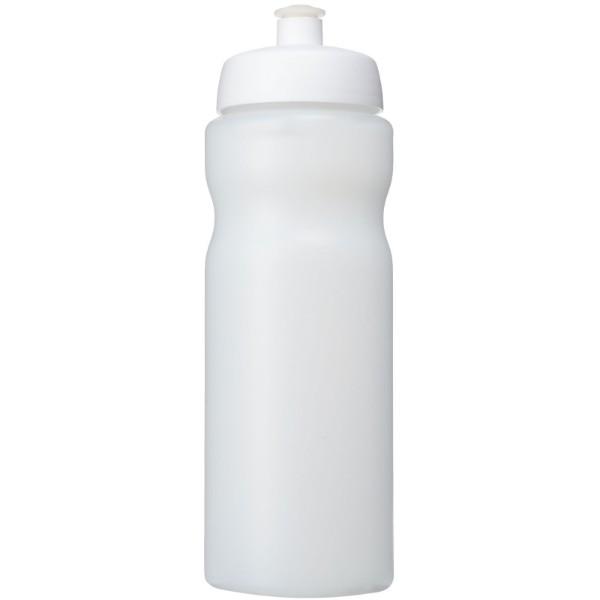 Baseline® Plus 650 ml sportovní lahev - Průhledná / Bílá
