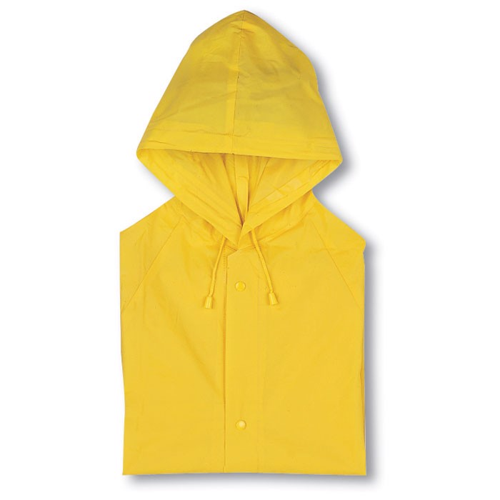 Pláštěnka s kapucí Blado - yellow