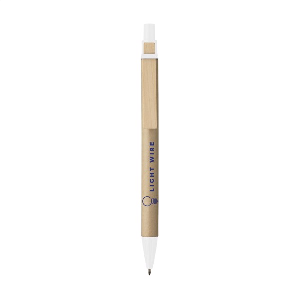 PaperWrite cardboard pen - White