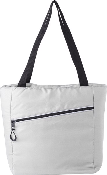 Pongee (75D) cooler bag - White