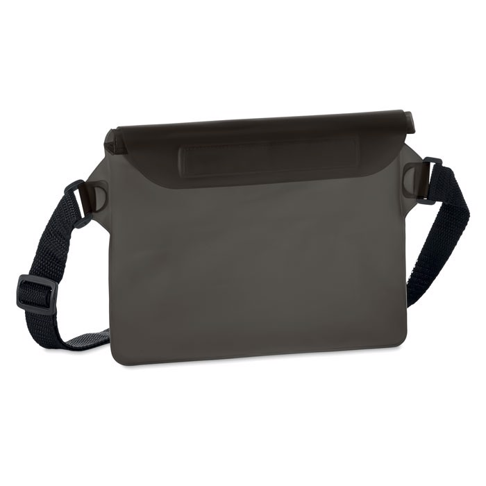 Nepromokavý obal na opasek Waistphone - transparent grey