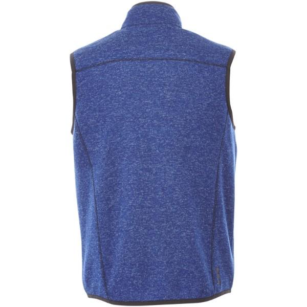 Tkaná vesta Fontaine - Heather modrá / L