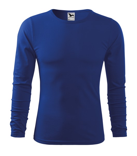 T-shirt men's Malfini Fit-T LS - Royal Blue / L