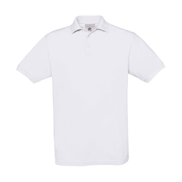 Men's Polo Shirt 180 g/m2 Pique Polo Safran Pu409 - White / XXL
