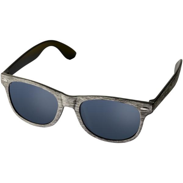 """Gafas de sol con acabado veteado """"Sun Ray"""" - Gris Claro"""