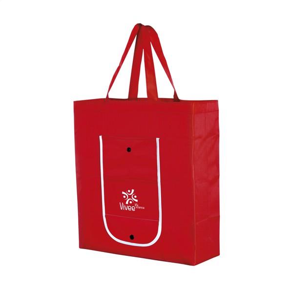 Foldy foldable shopping bag - Red