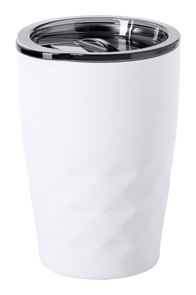 Copper Insulated Thermo Mug Blur - White