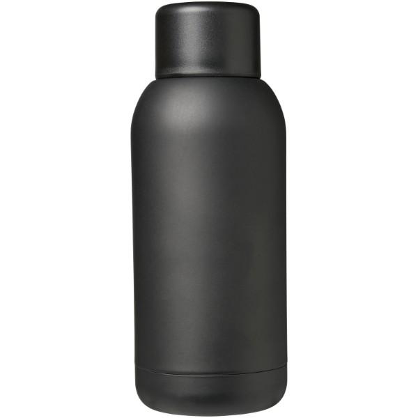 Brea 375 ml vakuumisolierte Sportflasche - Schwarz