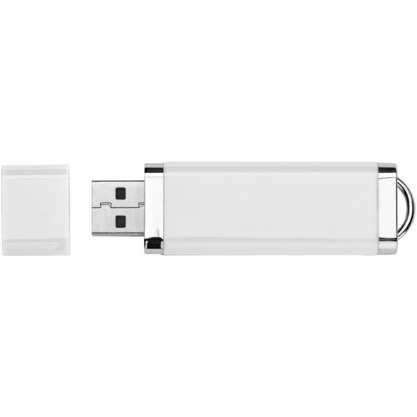 Ploché USB - Bílá / 1GB
