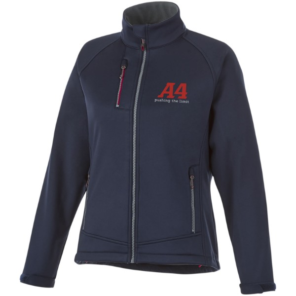 Chuck women's softshell jacket - Navy / XL