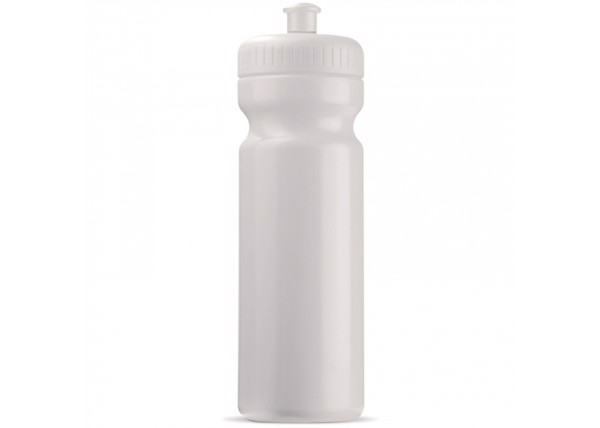 Sports bottle Bio 750ml - White / White
