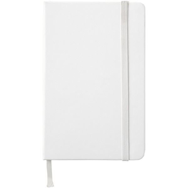 Classic PK hard cover notebook - squared - White