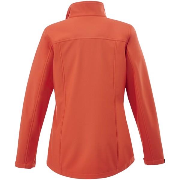 Maxson softshell ladies jacket - Orange / XS